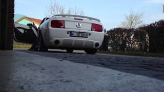 Mustang GT  V8 Sound Exhaust