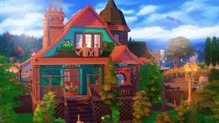 THE SIMS 4 House Building | CRAZY CAT LADY HOME