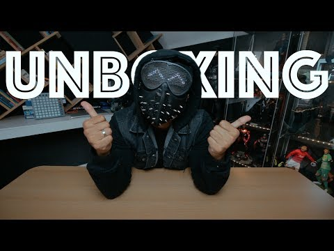 UNBOXING + REVIEW WRENCH MASK (WATCHDOGS 2) INDONESIA | REZZONE