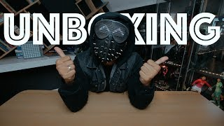 UNBOXING + REVIEW WRENCH MASK (WATCHDOGS 2) INDONESIA   REZZONE