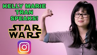KELLY MARIE TRAN SPEAKS OUT ON SOCIAL MEDIA HARASSMENT