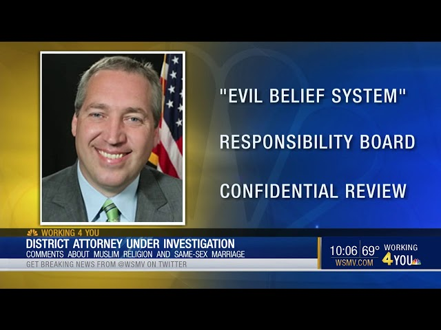 Video: CAIR Welcomes Ethics Probe of Islamophobic Tenn. District Attorney