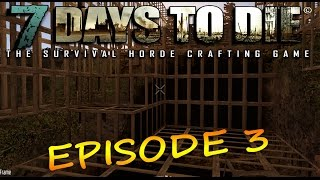 7 Days To Die, Alpha 11 - E03 - Base Building