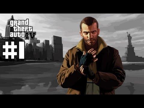 Grand Theft Auto 4 - Walkthrough - Part 1...