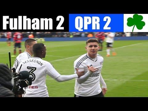 Fulham 2 QPR 2 | St Patrick's Day  | Fulham football club