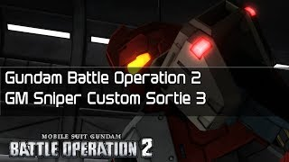 Gundam Battle Operation 2 GM Sniper Custom Sortie 3