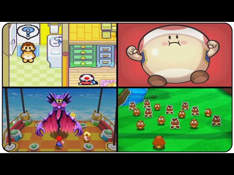 Mario & Luigi Series - Evolution of All Introductions (GBA, NDS & 3DS)