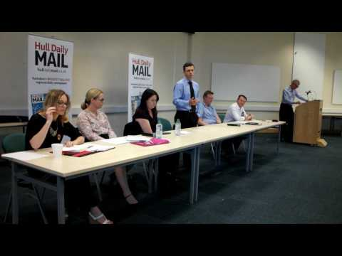 Will Taylor - Hull Daily Mail GE2017 Hustings - Opening Statement
