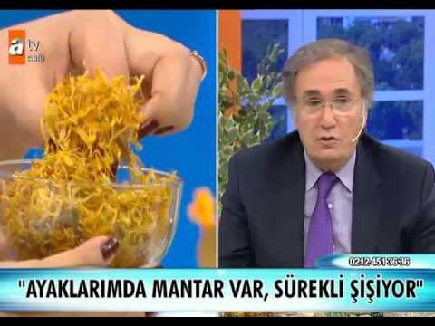 Ayak Mantarı Bitkisel Tedavi ( Prof.Dr. Ibrahim Saraçoğlu )