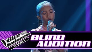Khansa Salsabila - Without You | Blind Auditions | The Voice Kids Indonesia Season 3 GTV 2018