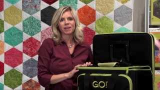 GO! Fabric Cutter Tote & Die Bag