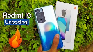 Redmi 10 6GB/128GB Unboxing and First Look Impressions
