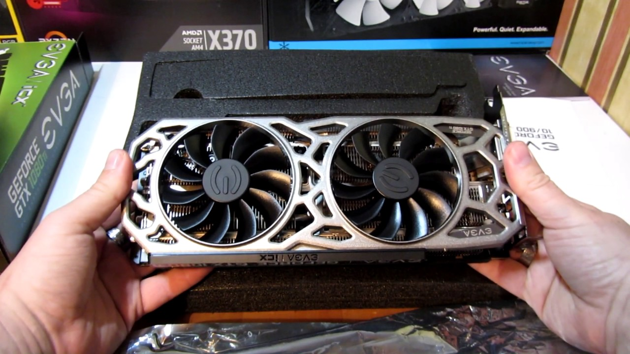 EVGA GTX 1080 TI SC2 unboxing and review for ReDZeD
