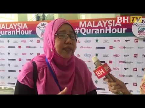 5,000 sertai My #QuranHour di Putrajaya