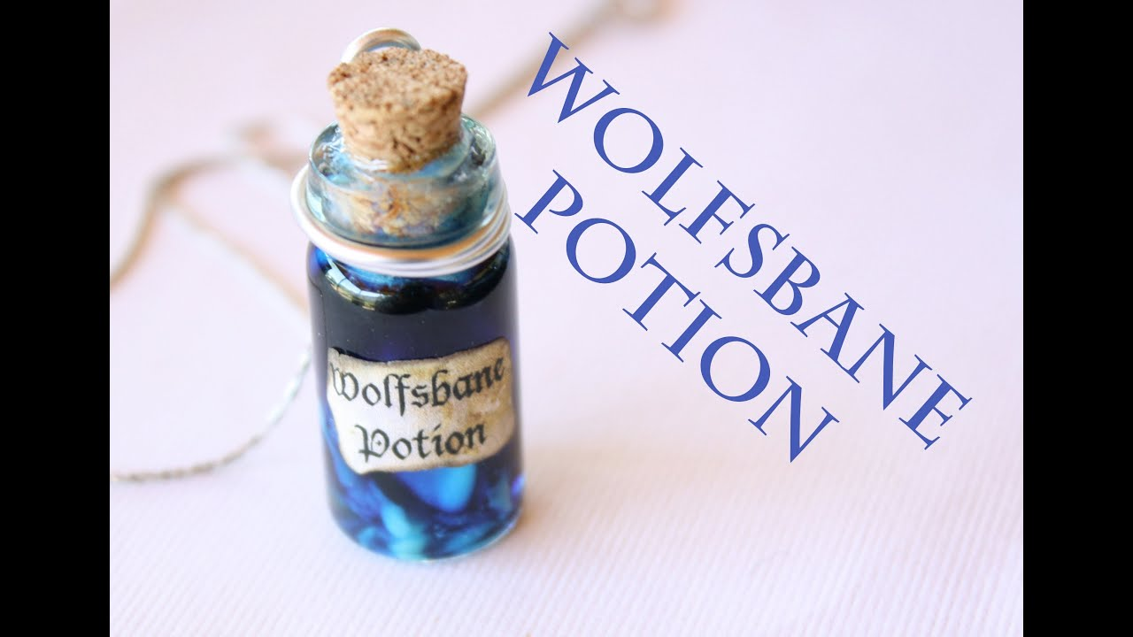 Wolfsbane Harry Potter Potion Ep 6 Bottle Charm Tutorial