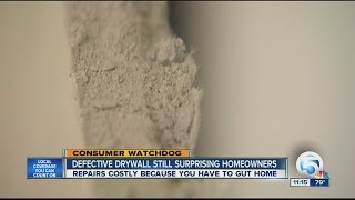 Homeowners Surprised To Find Chinese Drywall
