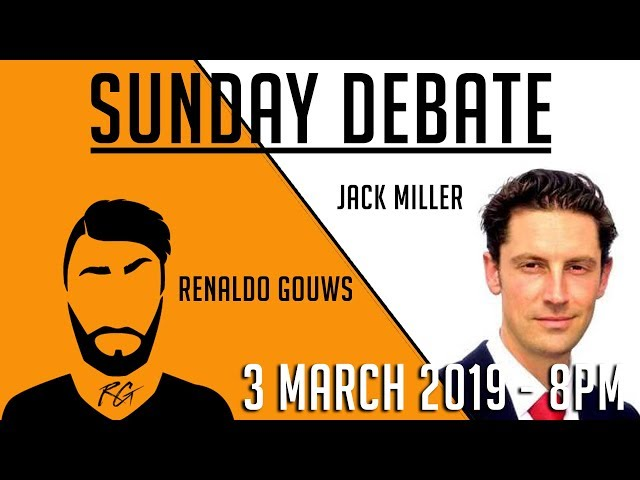 Sunday Debate | Jack Miller (Cape Party) | 3 March 2019