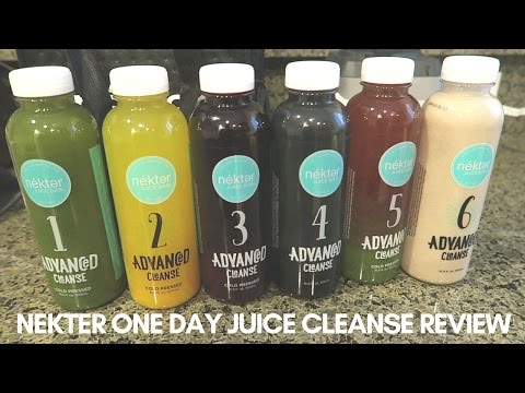 NEKTER ONE DAY JUICE CLEANSE REVIEW