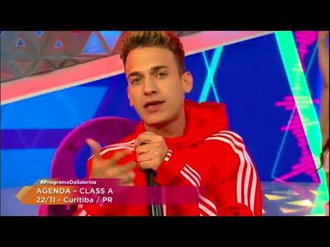 Sucesso na internet, Class A canta o hit Nós Dois no Programa da Sabrina