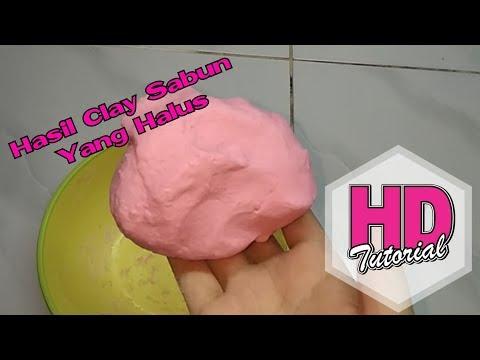 DIY - Cara Membuat Clay Sabun Yang Berkualitas Bagus || Tutorial Bunga Sabun | How To Make Soap Clay