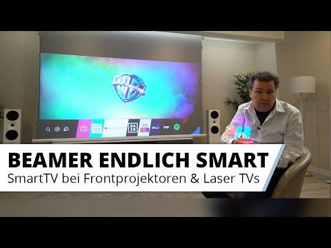 Smart TV Funktionen bei Beamern - Streaming und Co. - Was ist möglich?