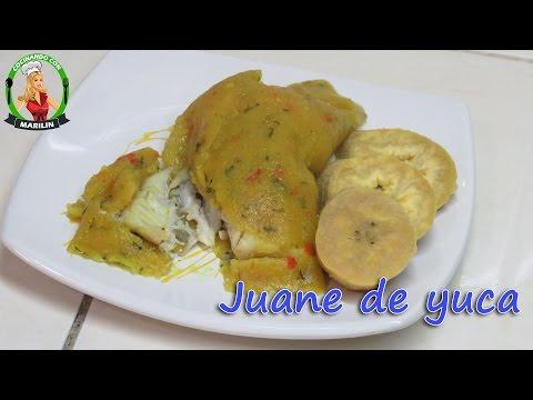 Cómo preparar juane de yuca | Cocinando con Marilin