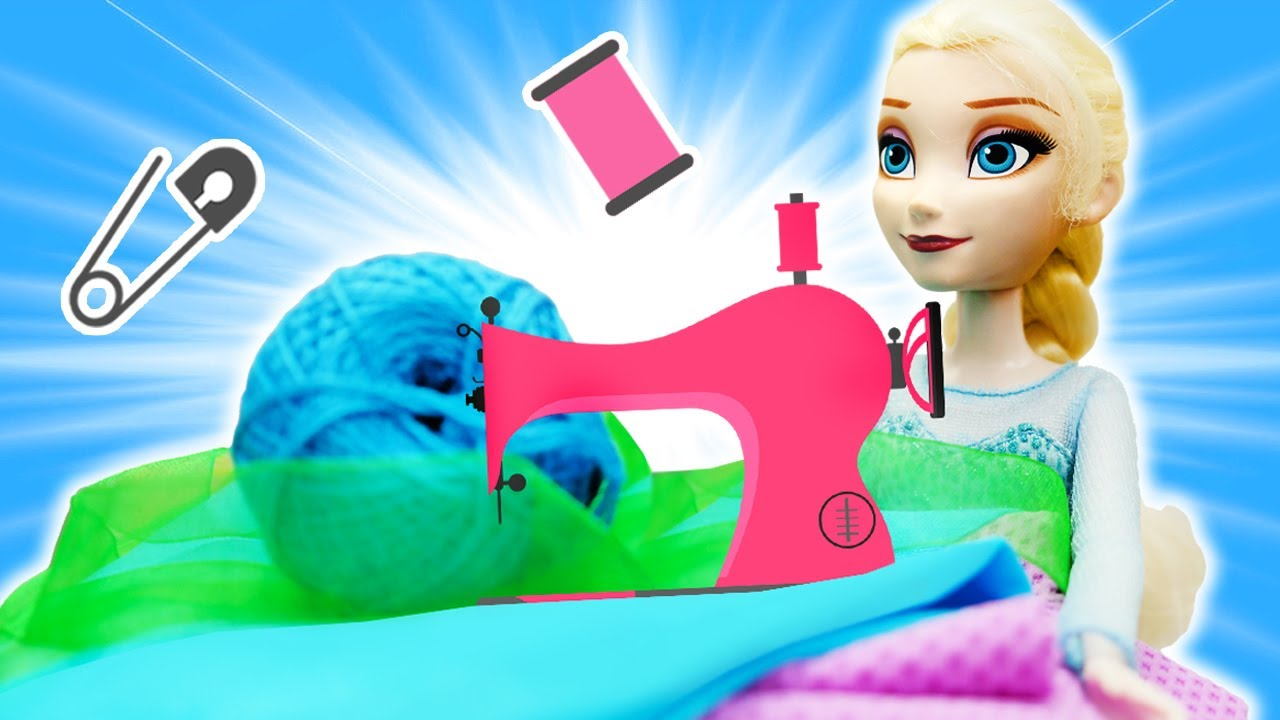 Эльза Холодное сердце и конкурс Принцесс - Видео для девочек игры в куклы Принцессы Диснея