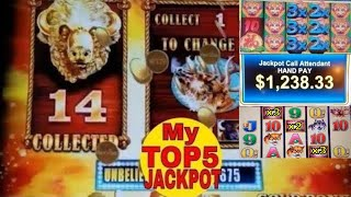Top 5 ✦★ HANDPAY JACKPOTS ★✦ Of 2017 By NG Slot ! Slot Machine ★JACKPOT WINS★ GREAT VIDEO