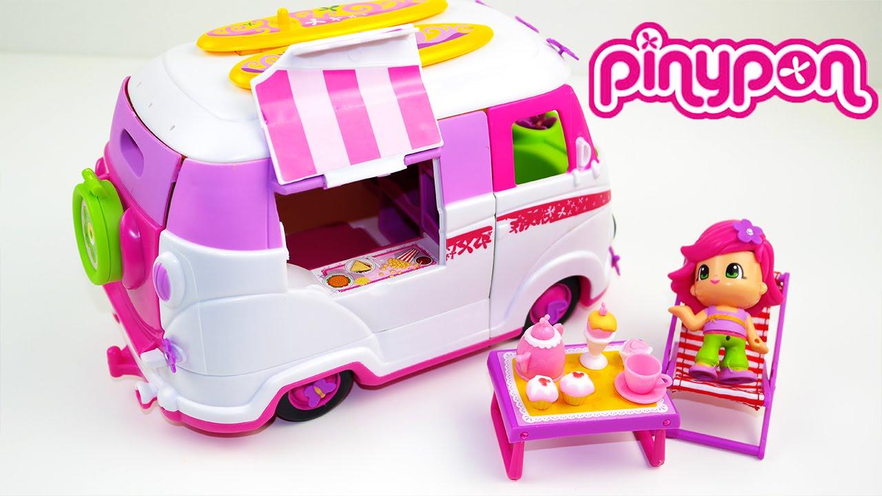 Pinypon caravan toy il camper di pinypon giochi per for Cortile giochi per bambini