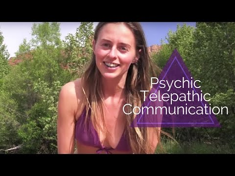 Cultivating Psychic Telepathic Communication & Meditation - Bridget Nielsen