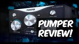 PUMPER Review (Saturator, Stereo Imager, Compressor)   VST/AU/VST3/AAX