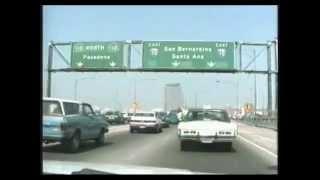 Driving in LA 1988 LAの車窓風景 1988年