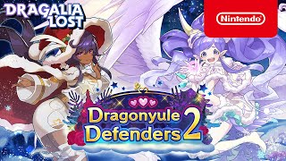 Dragalia Lost - Summon Showcase: Dragonyule Defenders 2