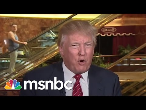 NBC Universal Ending Relationships With Donald Trump | msnbc