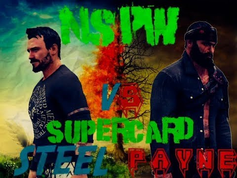 NSPW SUPERSHOW-First Ever Pay-per-view! AXEL PAYNE VS TYLER STEEL! #WWE2K20 HYPE!