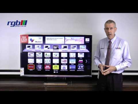 Panasonic WT65 Series - TXL55WT65B, TXL47WT65B - 3D Smart Viera LED TV
