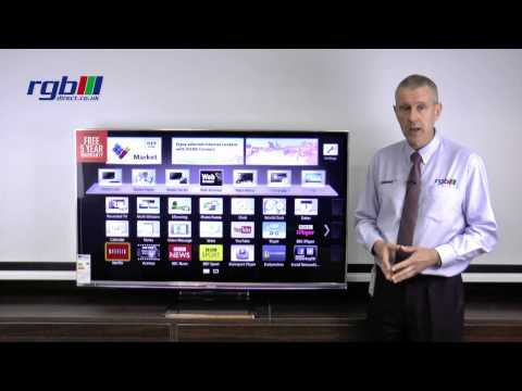 Panasonic WT65 Series - TXL55WT65B, TXL47WT65B - 3D Smart Viera LED TV