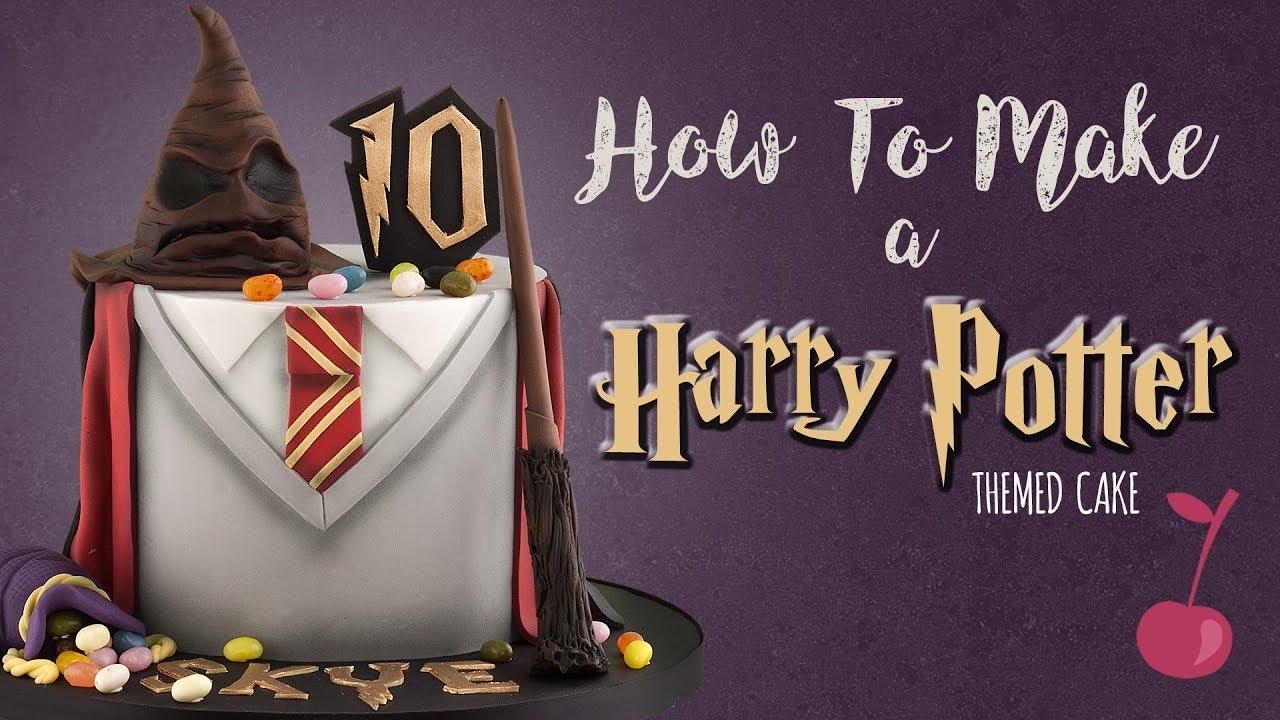 Harry Potter Cake Tutorial How To Cherry School Youtube