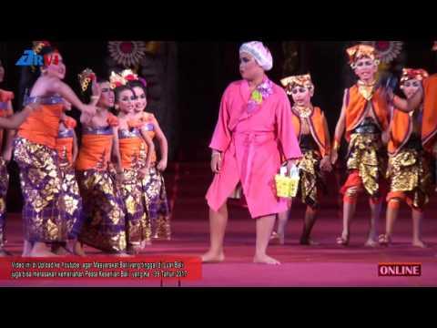 Kereennn!! Drama Tari DOLANAN, Duta Kota Denpasar - Pesta Kesenian Bali 2017