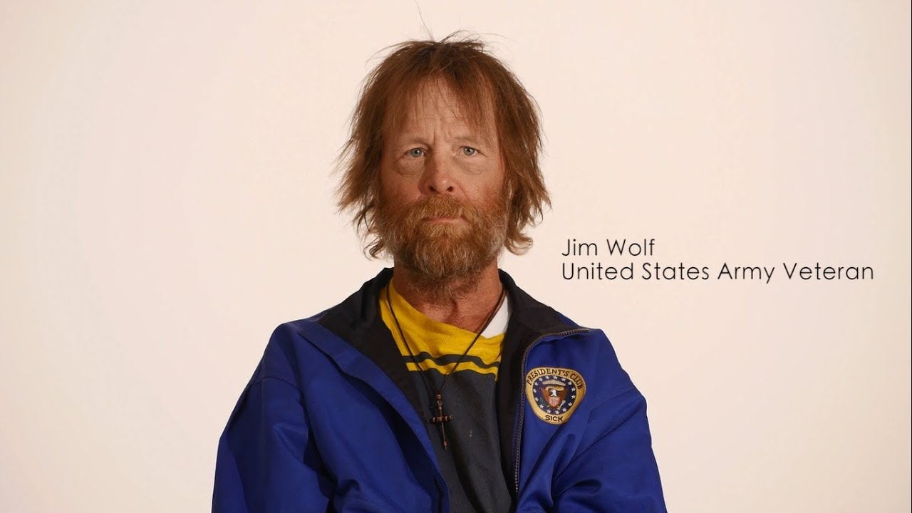 Homeless Veteran Timelapse Transformation