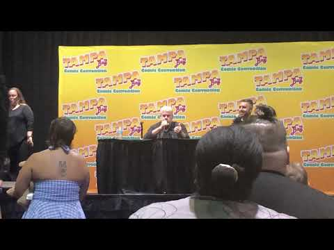 Ron Pearlman Q&A Tampa Florida comicon