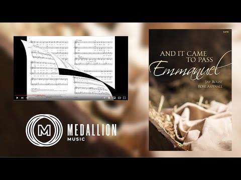 And It Came to Pass, Emmanuel - Jay Rouse, Rose M Aspinall