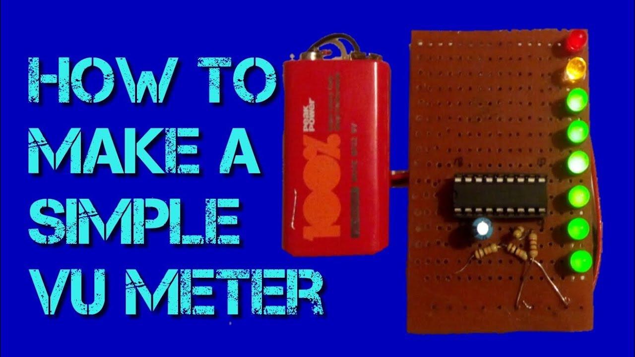 Led Bar Graph Circuit Using Ic 4017 Explained Electronic Circuit