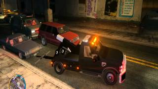 GTA 4 Ford F-550 Tow Truck in Action