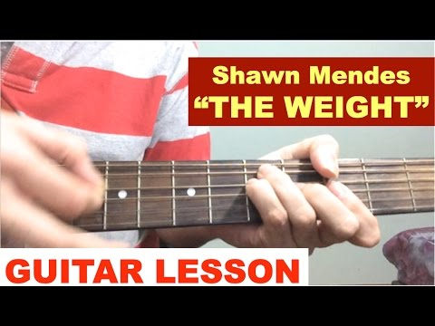 The Weight Piano Chords Shawn Mendes Khmer Chords