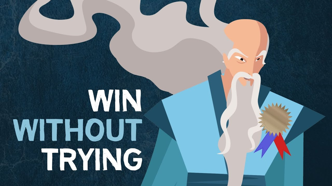 Win Without Trying (A Taoist simile about losing your flow)