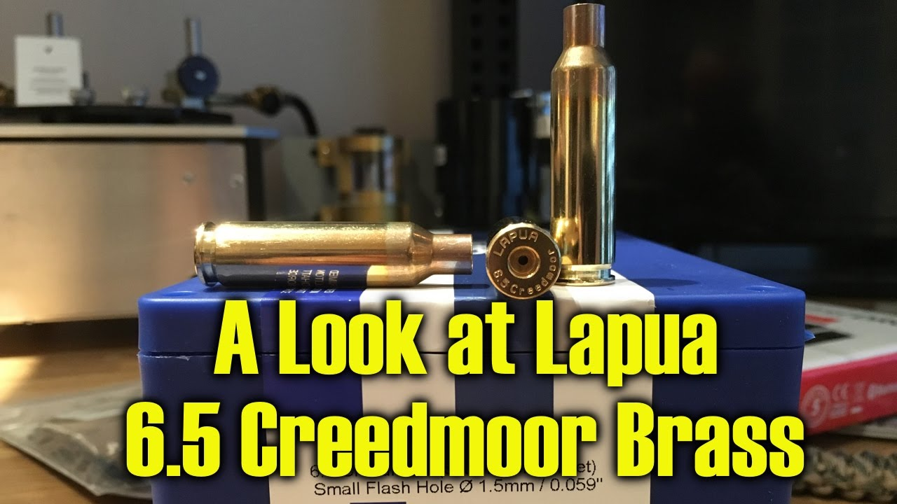 A Look at Lapua 6 5 Creedmoor Brass