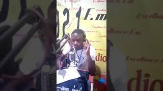 """DJ Sackio debut """"AZONTO"""" live on Excellence FM Ghana"""
