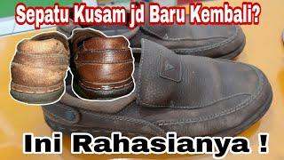Cara Membersihkan dan Merawat Sepatu Kulit / Soft Leather