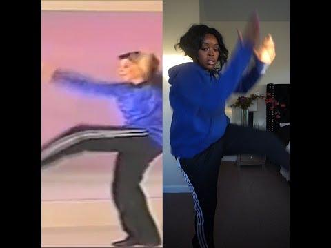 White Woman Teaches Hip Hop Dance Lessons | Tutorial